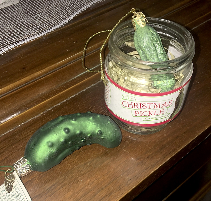 Christmas Pickle Tradition.The Christmas Pickle Is A Peculiar Tradition Courier Press