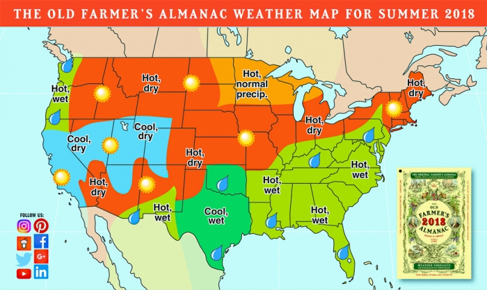 showing 1st image of Farmers Almanac Winter 2018 Wisconsin 'Farmer's Almanac' predicts winter warmer than normal ...