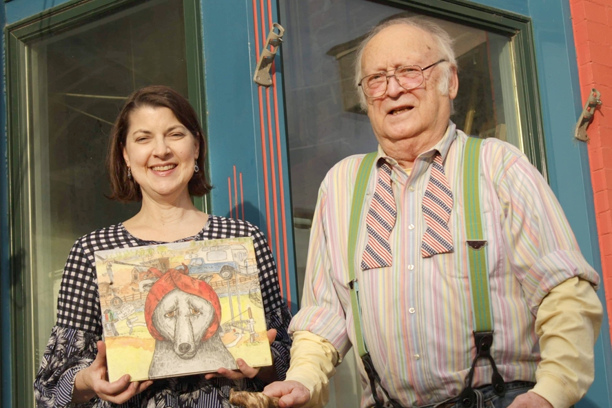 """By Willis Patenaude, Times-Register""""He came to the library one day and I didn't know who he was…I thought he was just donating books,"""" Elkader Library Director Lisa Wilke Pope joked about her first interaction with local children's book author Arthur Geisert..."""