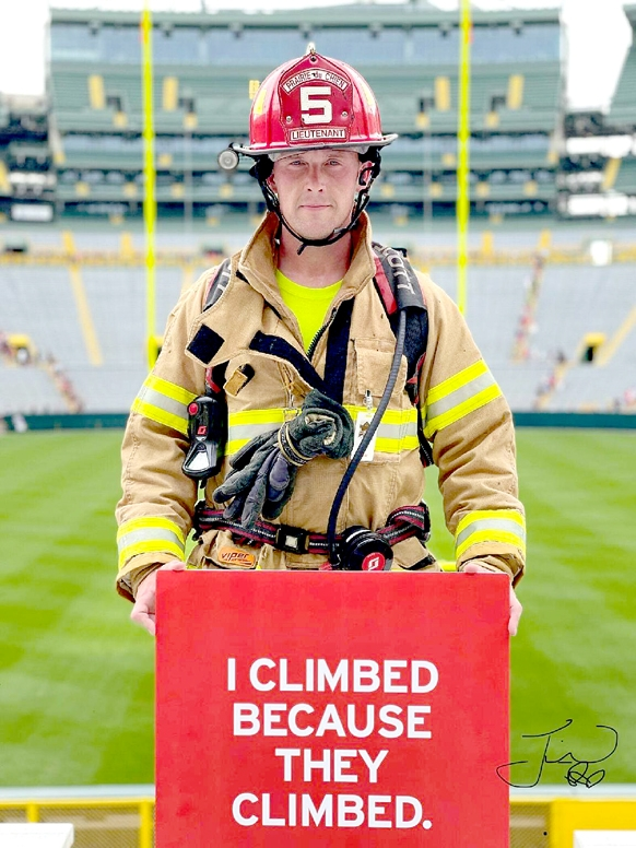 By Correne MartinTim Deluhery Jr., a lieutenant on the Prairie du Chien Fire Department, climbed the equivalent of 110 Twin Tower stories last Saturday, Sept. 11, in honor of the 343 New York City firefighters who perished during the 9/11 terrorist attacks.The 34-year-old was one of...