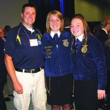 Beth Zimmer State FFA Officer