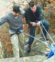 Outdoor fun Event addresses joining, starting clubs
