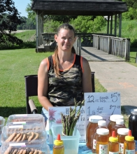 Angela Keppler moved from downtown to a spot on Highway 13 at the Fast Tak gas station and convenience store.