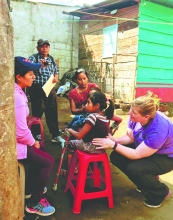 Medical mission Bormann shares skills with Guatemalans