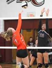 River Ridge volleyball photo1